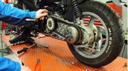 Motorcycles maintanance service