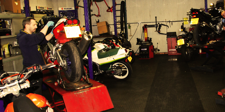 Motorcycles service