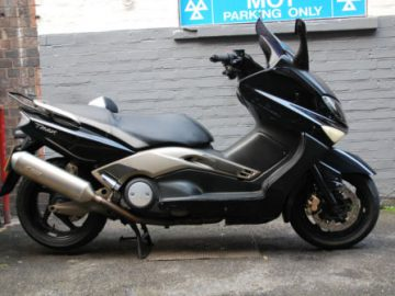 Yamaha tmax 500 second hand motorcycle