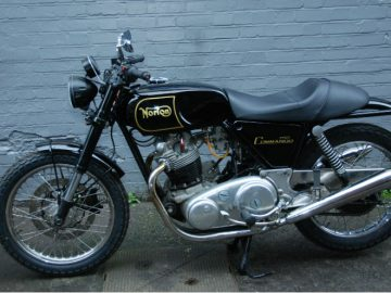 NORTON COMMANDO 750 second hand bike